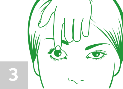 Step 3: How to remove contact lenses