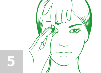 Step 5: How to remove contact lenses